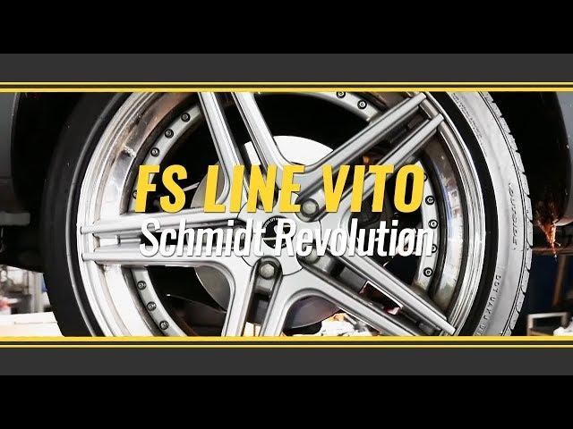 Mercedes V Klasse mit KW Variante 3 und Schmidt Revolution FS Line 3tlg.