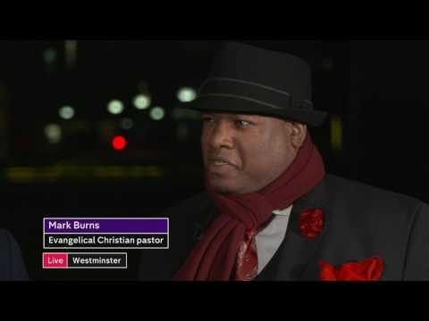 Trump debate Mhairi Black and Mark Burns – Channel 4 News