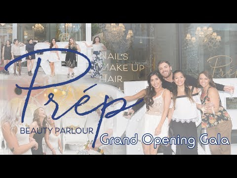 Prep Beauty Parlour Grand Opening A Vancouver Lashes, Nails, Makeup, Hair and Microblading Salon