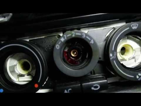 Turbo Golf 4 - Heizungsregler Lampe tauschen - YouTube RS33