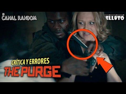 Errores de películas The Purge : La noche de las bestias - La noche de la expiación Review Crítica