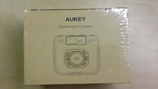Aukey DR01 1080p Car Dashcam Unboxing, Review & Video Quality Test - Day & Night (From Amazon UK)