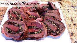 ~stuffed Venison Roast With Linda's Pantry~
