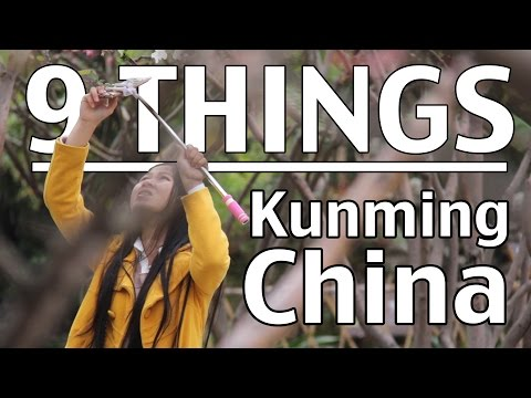 9 Things about Kunming, Yunnan, China