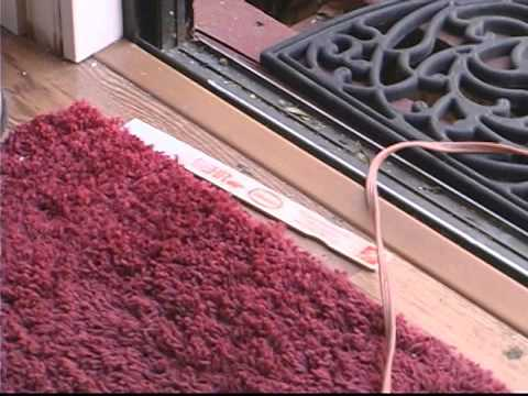 Replacing Sliding Glass Doors Removing Interior Threshold Youtube