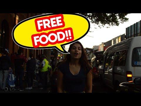 FREE FOOD!! Comida Grátis para Estudantes em Melbourne!!