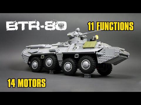 LEGO RC 8x8 BTR-80 APC