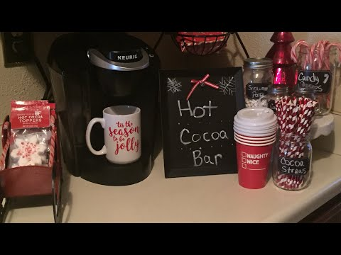DIY HOT COCOA BAR/TARGET HOT SPOT/DOLLAR TREE!!!