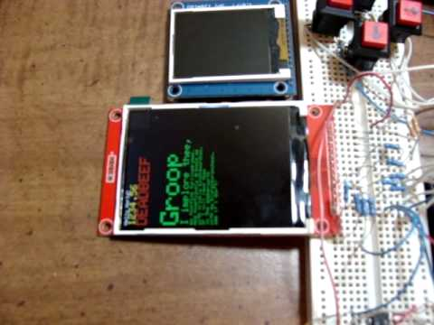 2 2/2 4/2 8 inch SPI TFT LCD ILI9341 with Arduino Uno