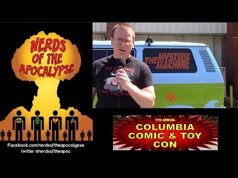 Columbia Comic and Toy Show 2015 Walkaround