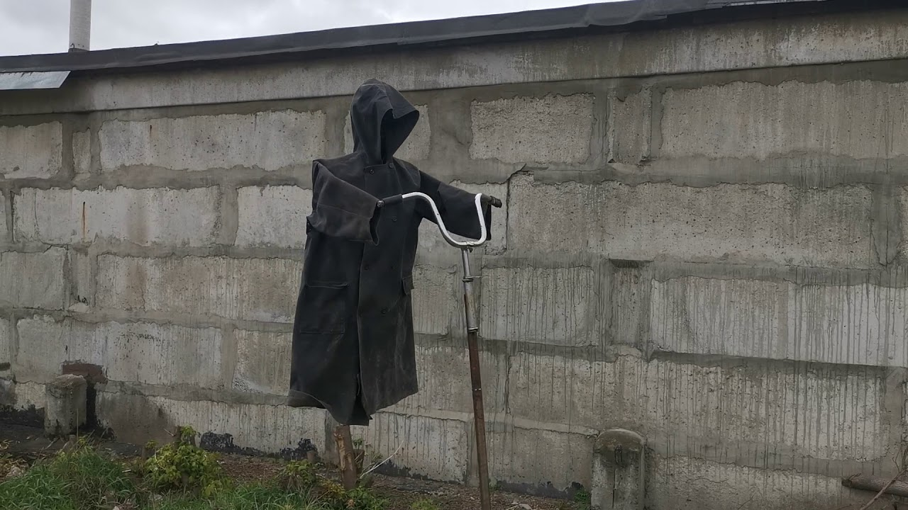 Scarecrow with your own hands. Пугало своими руками