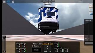 (ROBLOX MTA) MTA WORK TRAIN RUNS OVER GOPRO