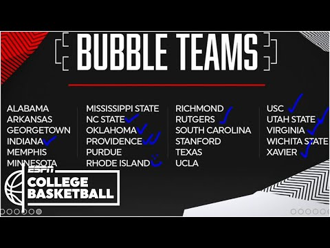 2020 NCAA Tournament Bubble Watch With Joe Lunardi | Bracketology Show