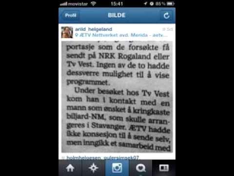 Stavanger Aftenblad 21 januar 2014 ÆTV