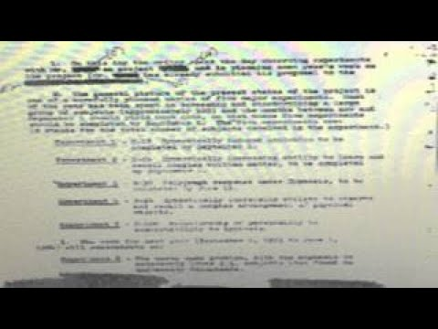Mk ultra a factual presentation using government and court documents part 1