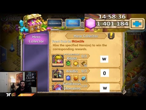 JT's Main Getting GREEDY Hero Collector SHOW ME THE GOODS! Castle Clash