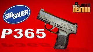 *NEW* SIG Sauer P365 - 1st Hundred