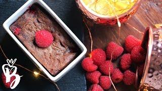 مولتن كيك التوت الأحمر | #أسبوع_مولتن_كيك | Chocolate Raspberry molten cake