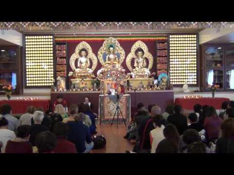 Teaching on Phowa by Garchen Rinpoche 1/2 噶千仁波切頗瓦法教授上集(1/25/2014)