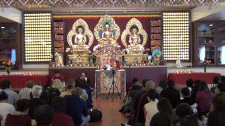 Teaching on Phowa by Garchen Rinpoche 1/2 噶千仁波切頗瓦法教授上集(1/25/2014)
