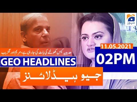 Geo Headlines 02 PM - 11th May 2021