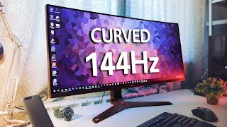 The new lg 34uc89g curved monitor brings all right features for a fantastic gaming experience so why should you avoid this one? let's find out! http://ww...