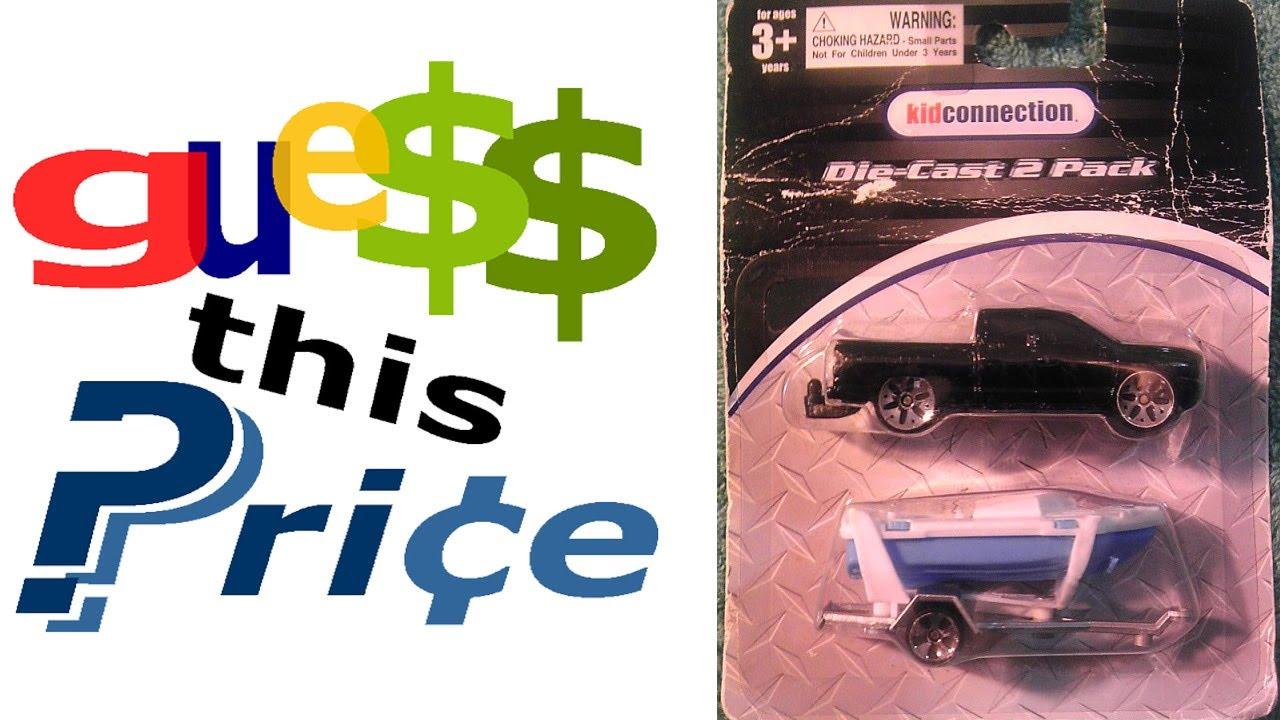 Dodge Ram 1500 Truck w Boat Trailer 1 64 Scale Die Cast