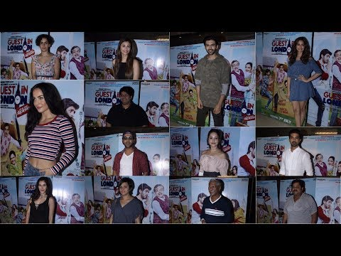 UNCUT : Special Celebrity Screening Of Film 'Guest Iin London'