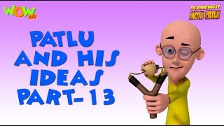 Patlu & His Ideas - Motu Patlu Compilation- Part 13- As seen on Nickelodeon