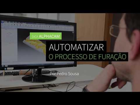 Dica 15 ALPHACAM | Automatizar o processo de furação