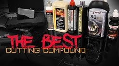 The best cutting compound shootout review