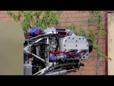 D-Motor LF26 first test run Australia - Ultralight Aviation Engine
