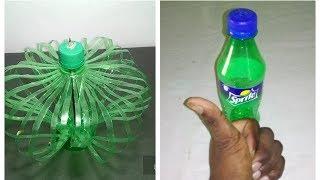 Make Wonderful flower    Empty plastic bottle vase making craft / Make Beautiful ideas Recycle vase.