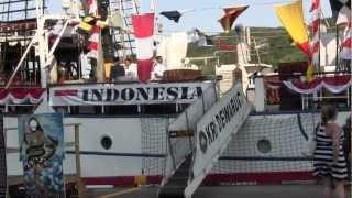 Kapal Republik Indonesia (KRI) Dewaruci di St. John