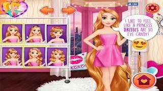 Kız giydirme oyunu / Rapunzel Elsa ve Gitarcı kız yaptım