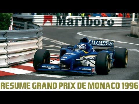 Resume Grand Prix De Monaco 1996 Formule 1 Youtube
