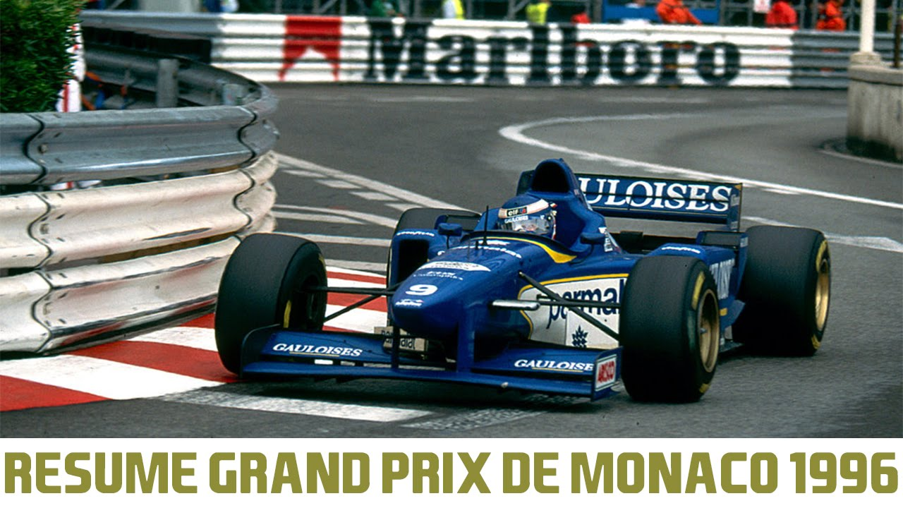 r sum grand prix de monaco 1996 formule 1 youtube. Black Bedroom Furniture Sets. Home Design Ideas