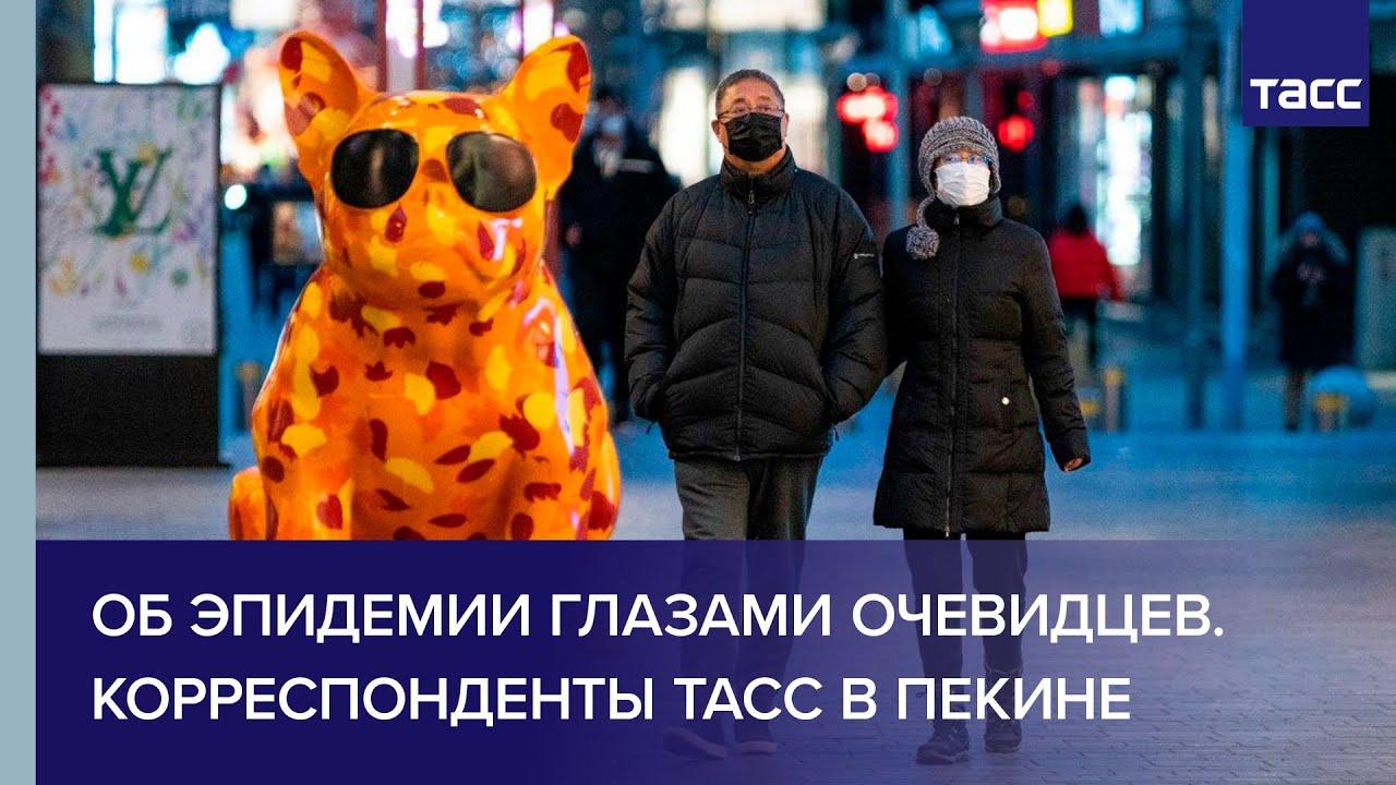Об эпидемии глазами очевидцев. Корреспонденты ТАСС в Пекине
