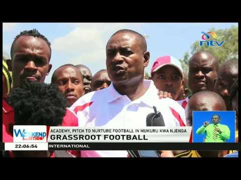 Sports academy pitch to nurture football in Mukuru kwa Njenga
