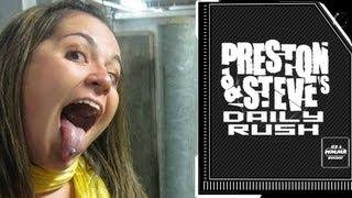 Marisa's Piercing - Preston & Steve's Daily Rush