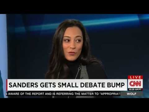 Angela Rye discusses presidential politics w CNN's Wolf Blitzer