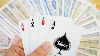 MAGIC!!! How To Cheat at The Card Table 2019