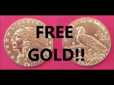 FREE GOLD GIVEAWAY $2 1/2 DOLLAR GOLD INDIAN COIN BU++