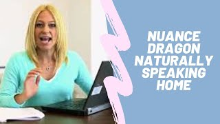 Nuance Dragon Naturally Speaking Home | Amazon | Review