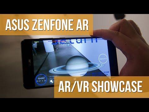 Asus ZenFone AR Augmented & Virtual Reality Demo