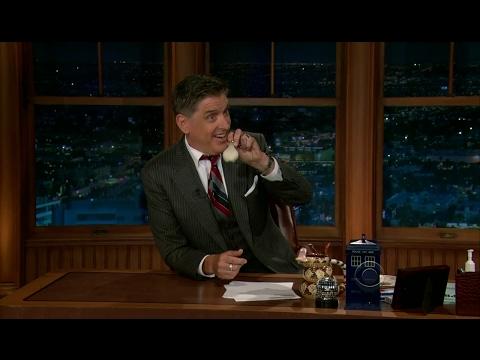 Late Late Show with Craig Ferguson 7/23/2012 George Hamilton, Julie Gonzalo