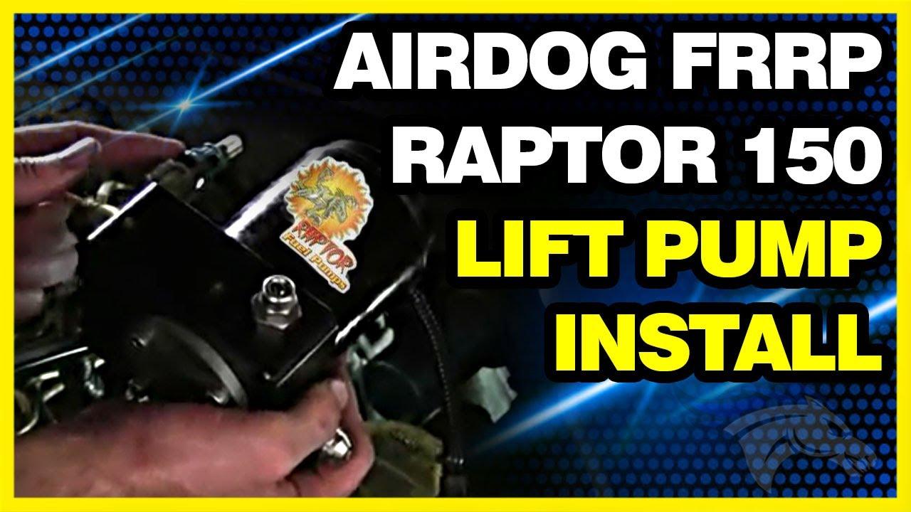 AirDog Raptor 100GPH Universal Replacement Lift Pump