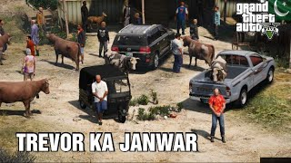 Trevor Buying Janwar for Qurbani | Eid Mandi Series #3 | Eid Ul Azha 2020 | Gta 5 | Urdu\Hindi