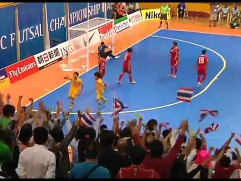 ฟุตซอลเอเชีย 2012 ไทย 5-4 อิหร่าน ช่อง9&SMMTV