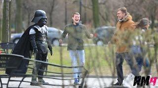 Дарт Вейдер нападает на людей / Star Wars Prank / Никита Курков